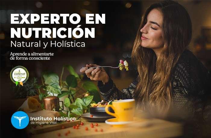 portada curso nutrición natural y holistica